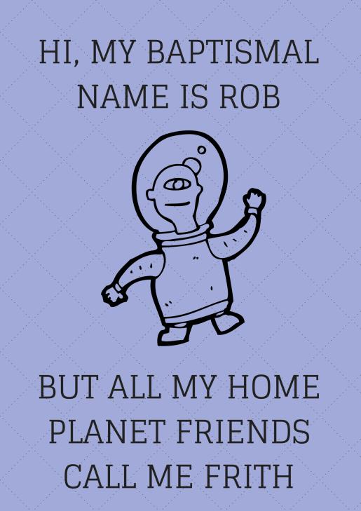 HI MY NAME IS BOB