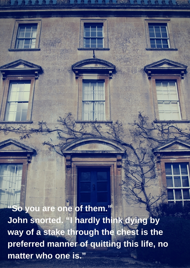 """So you are one of them.""John snorted. ""I"