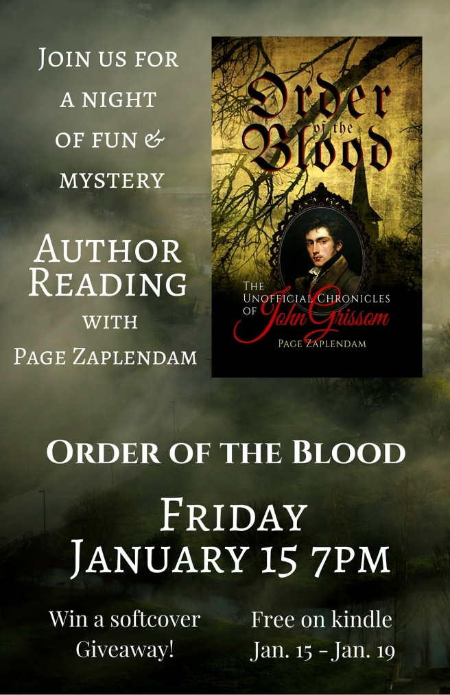 Book Reading Fri , Jan 15